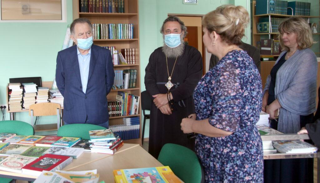 Владимир Щербаков в православной гимназии в Калининграде