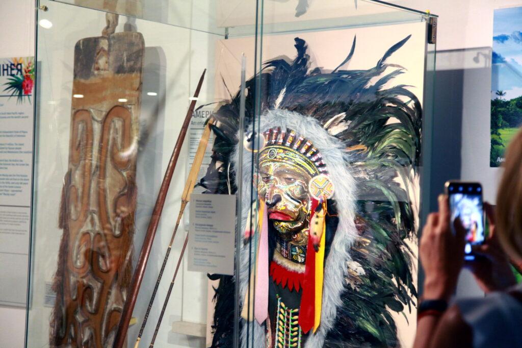 Экспонат экспозиции «Красота и магия» в Музее Мирового океана в Калининграде