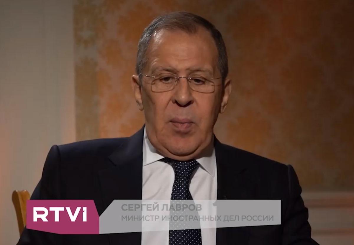Сергей Лавров рассказал RTVI о спасении «берлинского пациента» Алексея Навального
