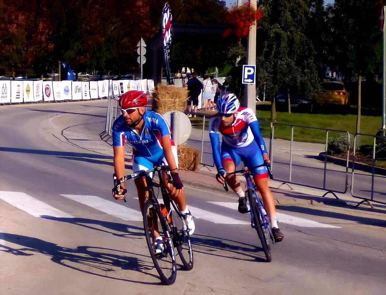 Велосипедист из Калининграда завоевал медаль чемпионата России
