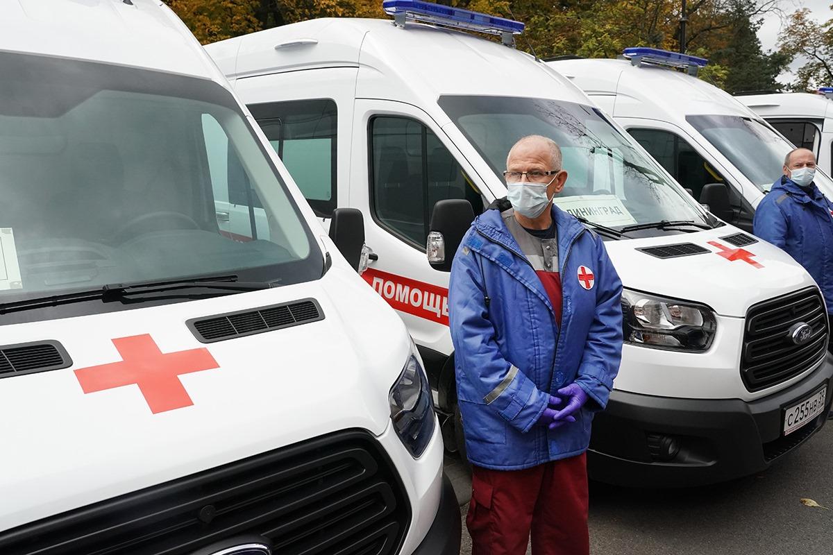 Парк «скорых» Калининградской области пополнился 17 новыми машинами