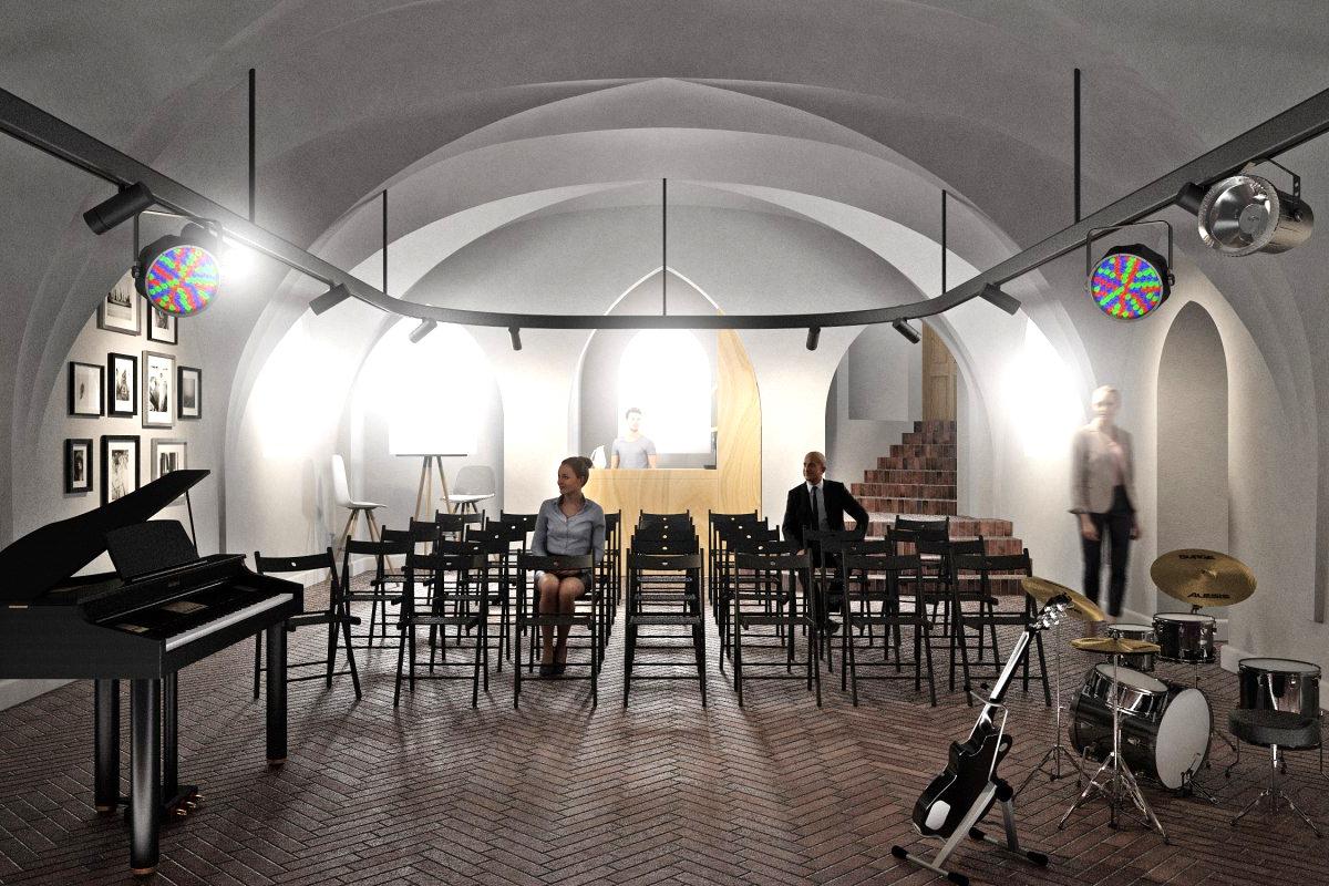Подвал филармонии в Калининграде превратят в «культурное пространство»