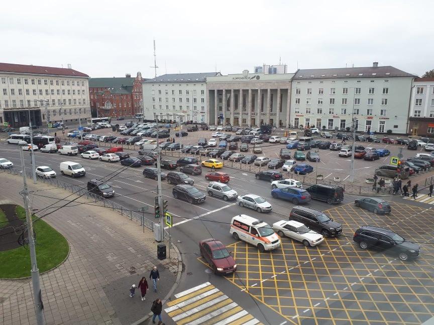 В Калининграде назвали 4 очага аварийности на дорогах Калининграда