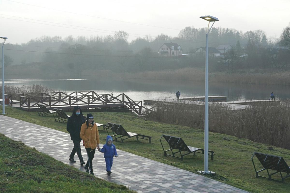 В Багратионовске и Черняховске открыли объекты-победители всероссийского конкурса лучших проектов комфортной городской среды