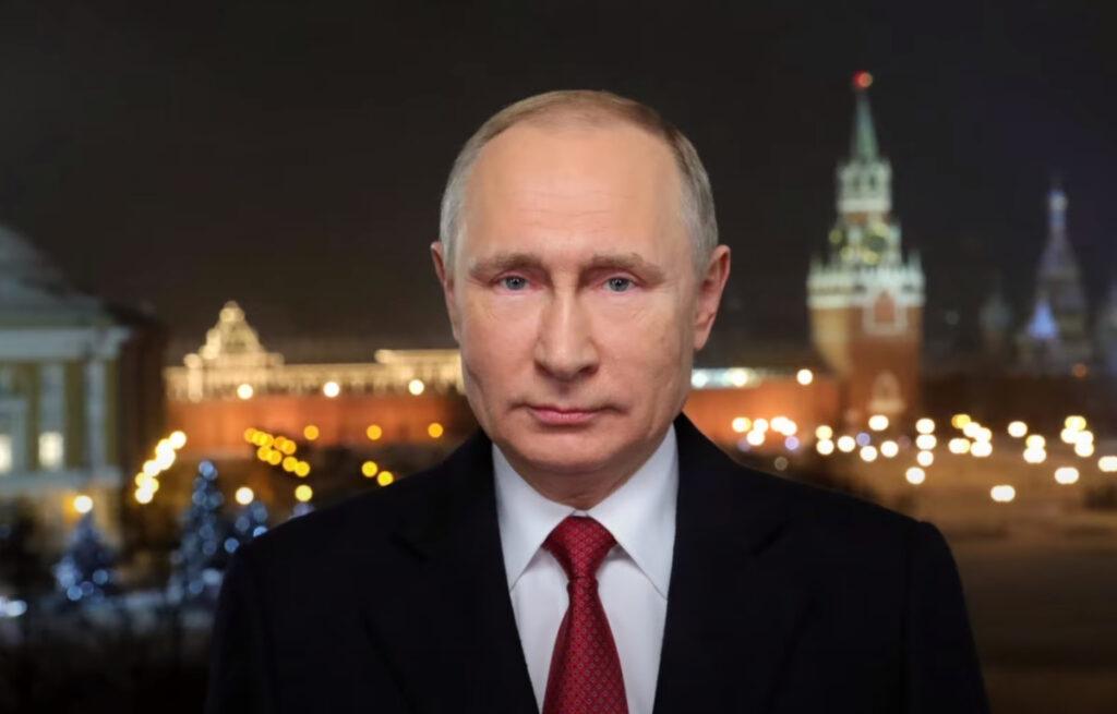 Новогоднее видеообращение Путина к россиянам (видео)