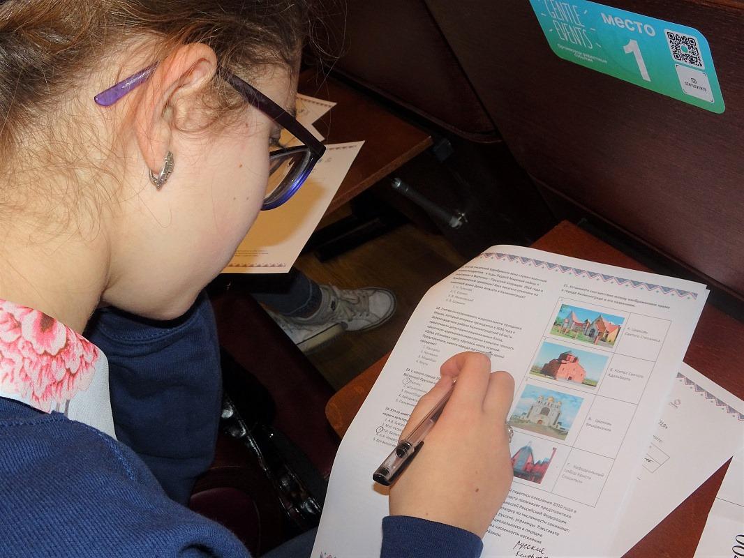 Полторы тысячи школьники Калининградской области приняли участие в олимпиаде по английскому языку