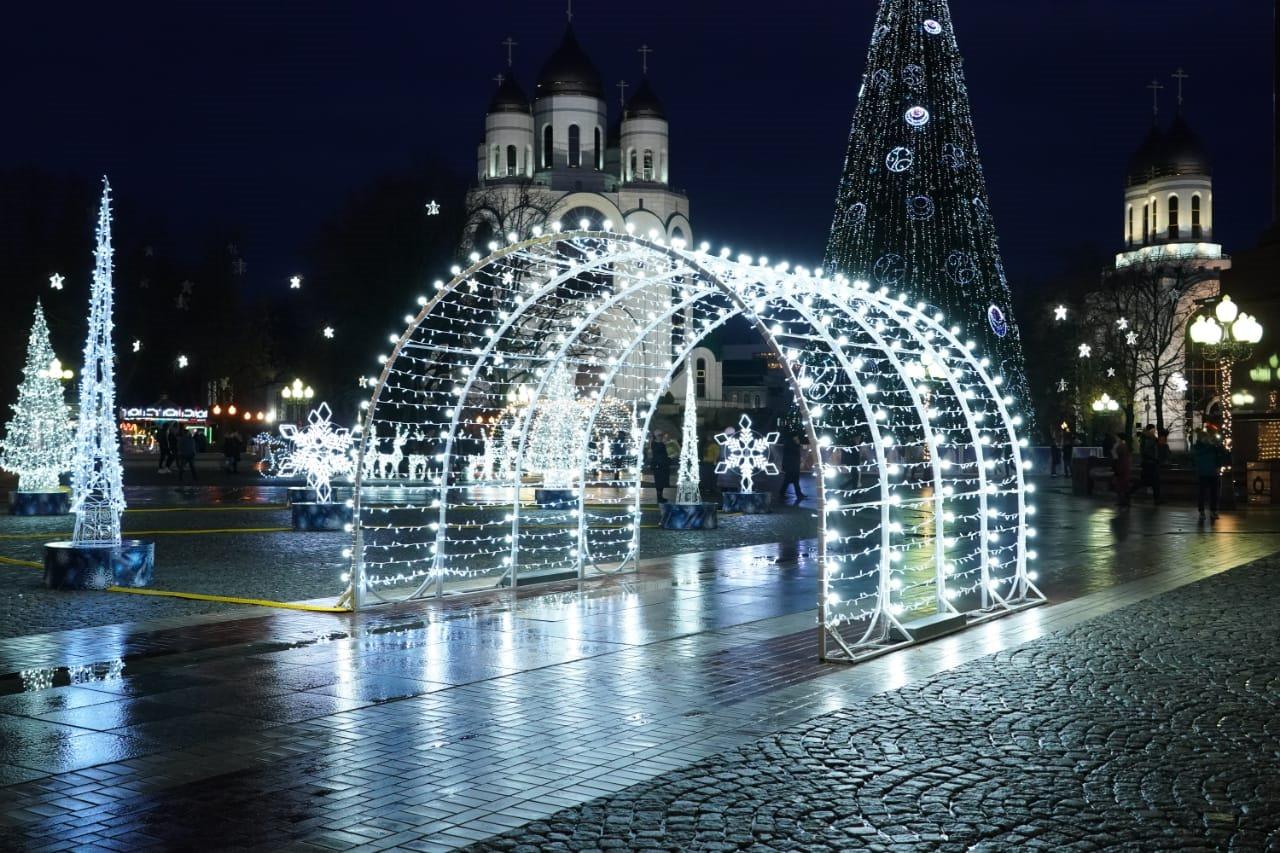 Более 50 тысяч туристов приехало в Калининград на новогодние праздники