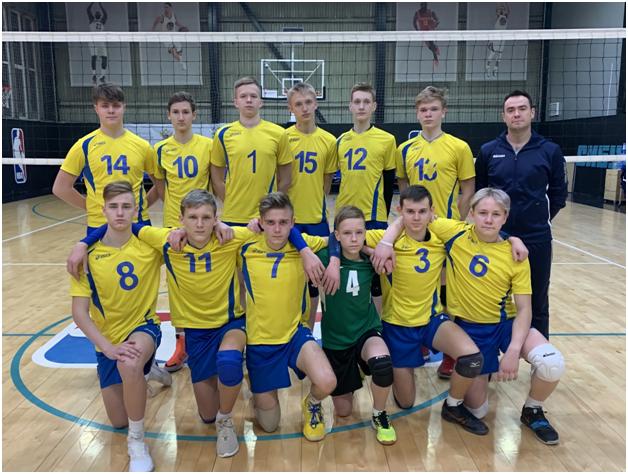 Юношеская сборная из Калининграда – на третьем месте полуфинала первенства России по волейболу