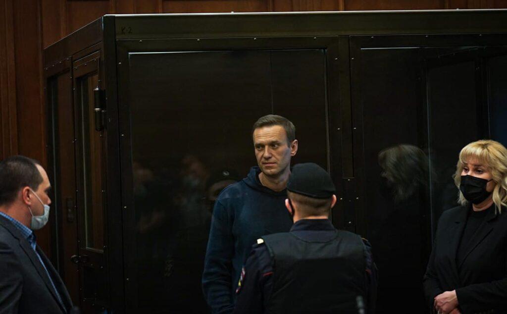 Алексей Навальный. Фото: пресс-служба Мосгорсуда