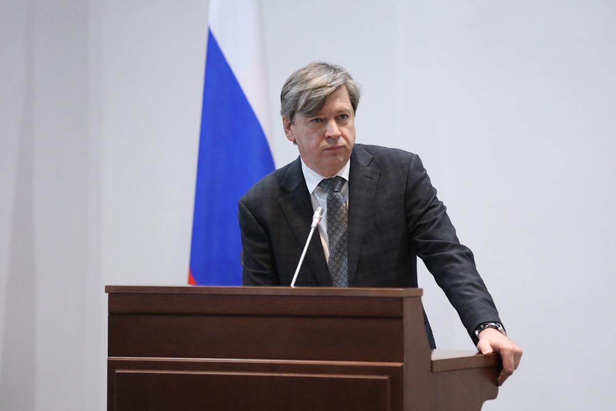 Министр финансов Калининградской области Виктор Порембский