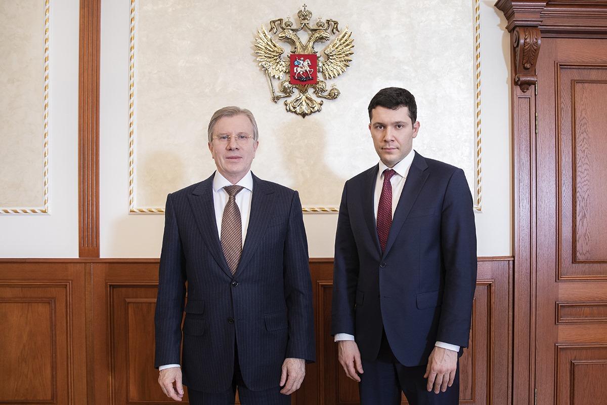 Виталий Савельев и Антон Алиханов