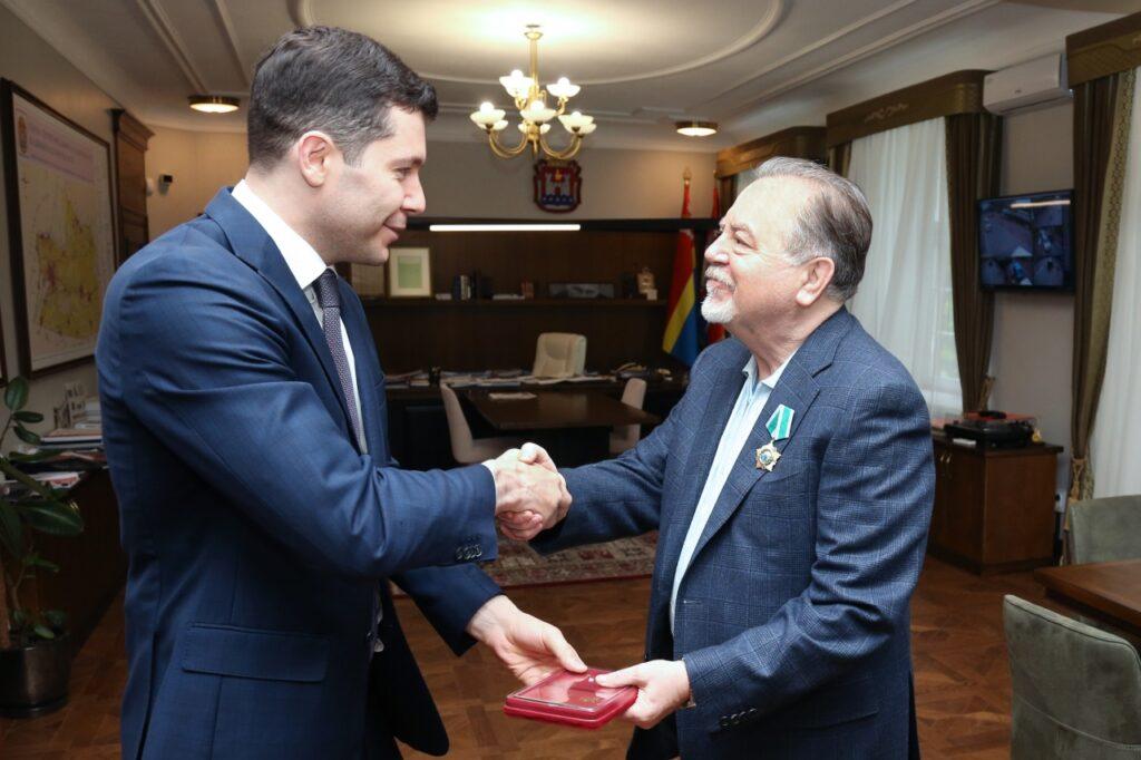 Антон Алиханов и Владимир Щербаков