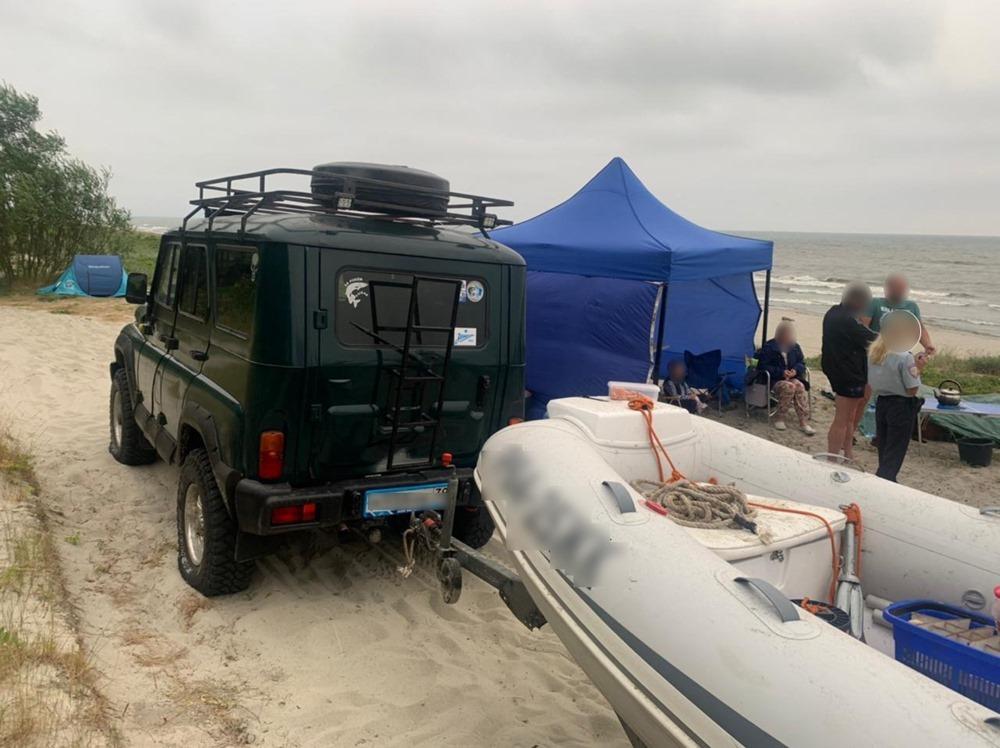 полиция задержала очередного любителя езды по пляжу