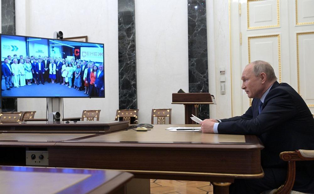 Владимир Путин поздравил выпускников четвертого потока РАНХиГС