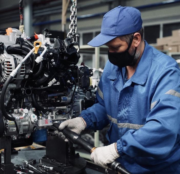 «Автотор» готов к поставкам двигателей с питерского завода Huyndai